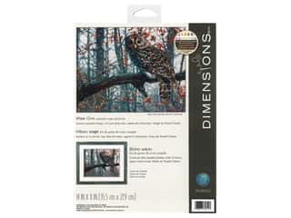 Dimensions Cross Stitch Kit 14 in. x 11 in. Wise Owl