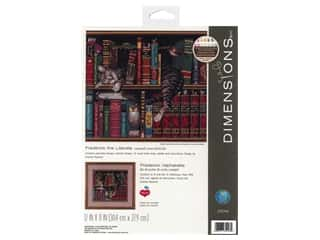Dimensions Cross Stitch Kit 12 in. x 11 in. Frederick The Literate