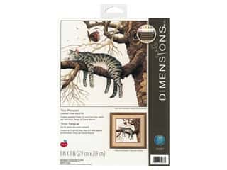 Dimensions Counted Cross Stitch Kit 11 x 11 in. Too Pooped