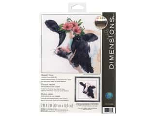 Dimensions Cross Stitch Kit 12 in. x 12 in. Sweet Cow