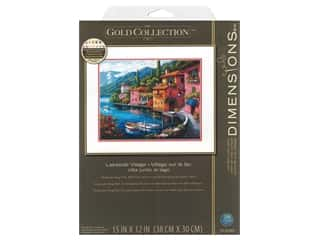 Dimensions Cross Stitch Kit 15 in. x 12 in. Lakeside Village