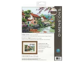 Dimensions Cross Stitch Kit 13 in. x 10 in. Village Canal