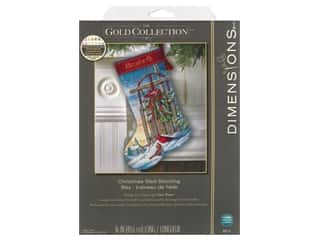 Dimensions Cross Stitch Kit 16 in. Stocking Christmas Sled