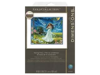 Dimensions Cross Stitch Kit 14 in. x 12 in. Spring Fairy