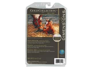 Dimensions Cross Stitch Kit 7 in. x 5 in. Good Morning