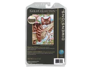 Dimensions Cross Stitch Kit 5 in. x 7 in. Napping Kitten