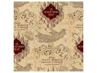 Harry Potter 44 in. Cotton Fabric - Marauders 8 yd.