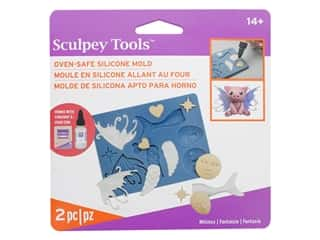Sculpey Mold Polyform Oven-Safe Silicone Whimsy