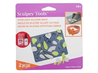 Sculpey Mold Polyform Oven-Safe Silicone Flowers