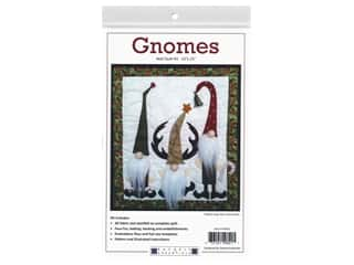 Rachel's Of Greenfield Kit Wall Quilt Gnomes