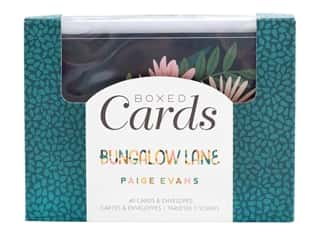 American Crafts Collection Paige Evans Bungalow Lane Boxed Cards