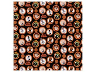 Space Jam 2 Yard Precut Cotton Fabric - Character Coins
