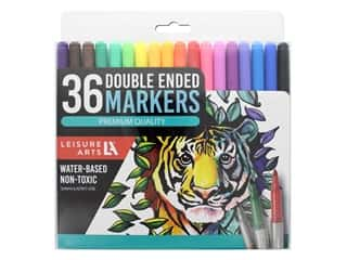 Leisure Arts Double Ended Markers 36 pc.