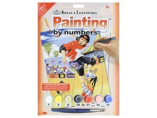 Royal Paint By Number Junior Small Skateboarder