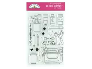 Doodlebug Collection Cute & Crafty Doodle Stamps