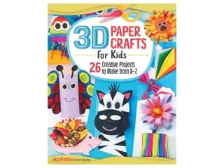 3D Paper Crafts For Kids Book