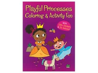 Dover Publications Playful Princesses Coloring & Activity Book