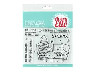 Avery Elle Clear Stamp Halloween S'mores