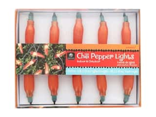 Amscan Collection Fiesta Light String 8' Chili Pepper