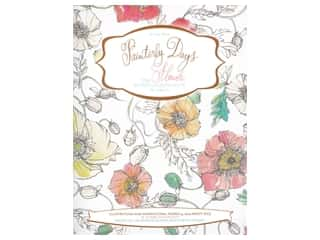 Schiffer Publishing Painterly Days The Flower Watercoloring Book