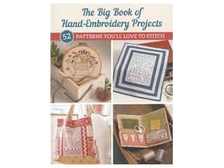 books & patterns: The Big Book Of Hand-Embroidery Projects