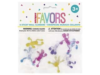 Unique Party Favors Sticky Wall Climbers 8pc