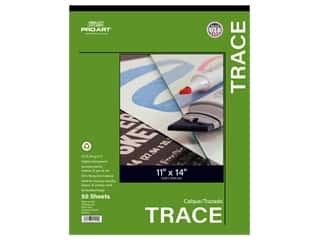 Pro Art Tracing Paper Pad 25 lb 11 in. x 14 in. 50 pc