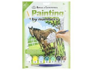 Royal Paint By Number Kit Mare & Foal