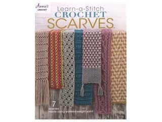 Annie's Learn-a-Stitch Crochet Scarves Book