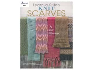 Annie's Learn-a -Stitch Knit Scarves Book