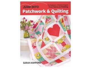 C&T Publishing Jump Into Patchwork & Quilting For Beginners Book