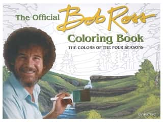 Universe Publishing The Official Bob Ross Coloring Book: The Colors Of The Four Seasons