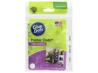 Glue Dots 1/2 in. Poster Dots 60 pc.
