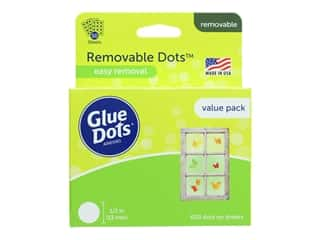 Glue Dots 1/2 in. Removable Dots - Value Pack