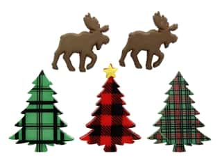 Jesse James Embellishments Holiday Collection Christmas Cabin