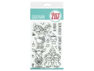 Avery Elle Clear Stamp Christmas Critters