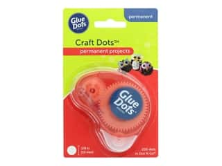 glues, adhesives & tapes: Glue Dots Dot N Go Dispenser - 3/8 in. Craft Dots