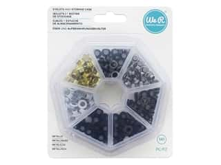 We R Memory Keepers Eyelets and Storage Case 140 pc. Metallic