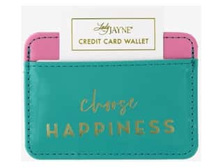 Lady Jayne Case Credit Card Wallet Choose Happiness
