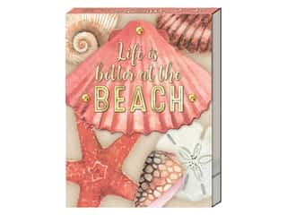 Punch Studio Note Pad Pocket Coral Scallop