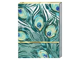 Punch Studio Note Pad Pocket Feather Pattern