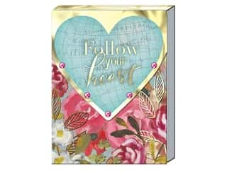 Punch Studio Note Pad Pocket Follow Your Heart