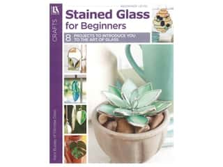 Leisure Arts Craft Stained Glass For Beginners Book