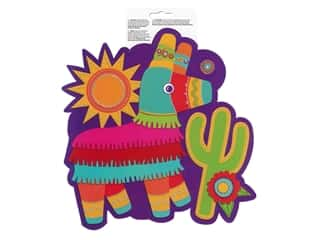 Amscan Collection Fiesta Paper Cut-Out 10.5 in. Pinata