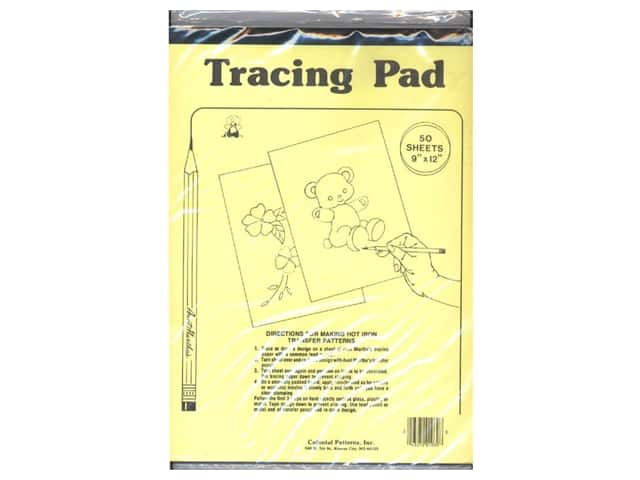 Aunt Martha's Tracing Paper Pad 9 x 12 in. 50 Sheets