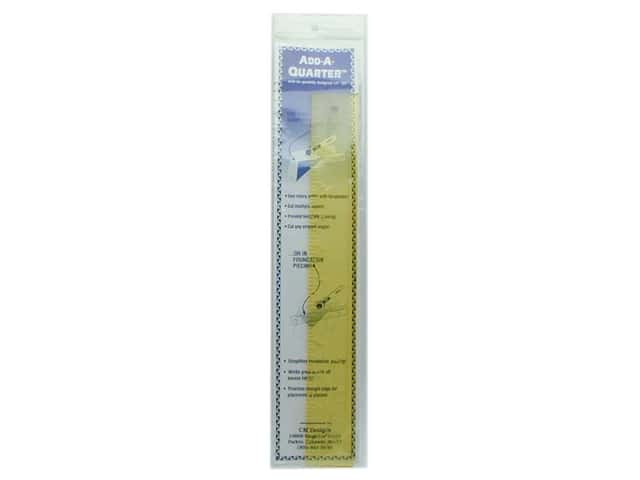 CM Designs Add-A-Quarter Ruler 12 in.