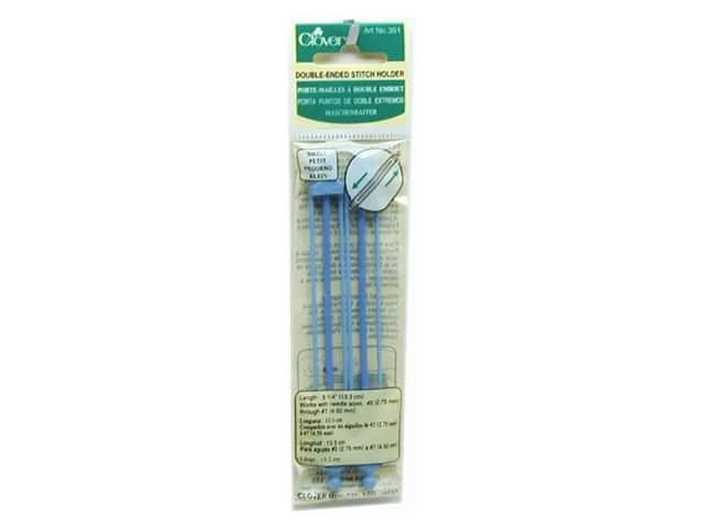 Clover Stitch Holder Double Ended 2 pc. Small