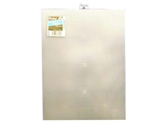 Darice Plastic Canvas #14 Mesh 8 1/2 x 11 in. Clear