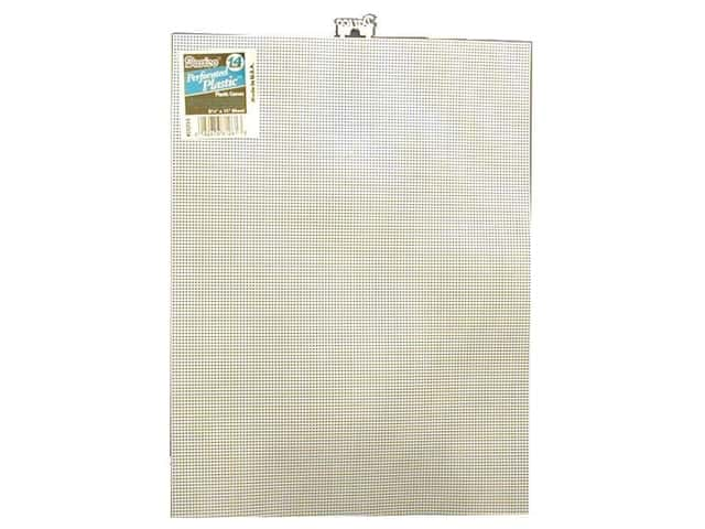 Darice Plastic Canvas #14 Mesh 8 1/2 x 11 in. White