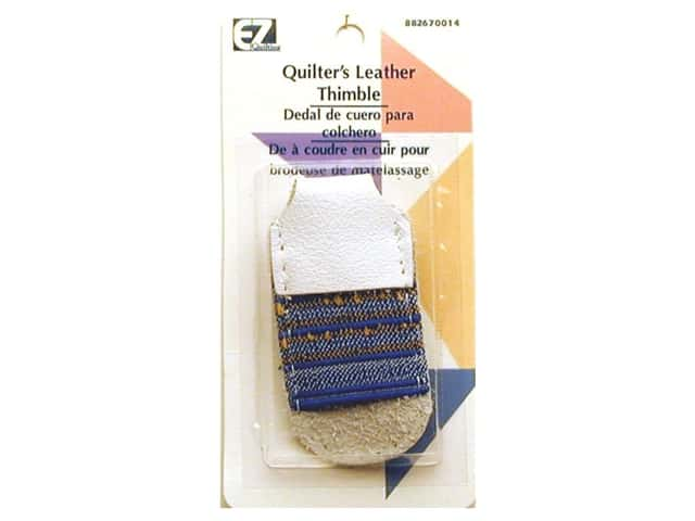 EZ Quliting Quilter's Leather Thimble